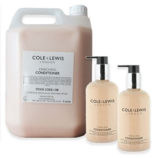 Cole & Lewis Cole & Lewis Lemongrass & Bergamot Hair Conditioner 5 litre Refill