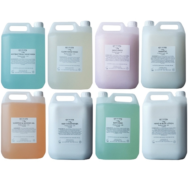 5 Litre Liquid Soaps Gels And Body Lotion Hotel