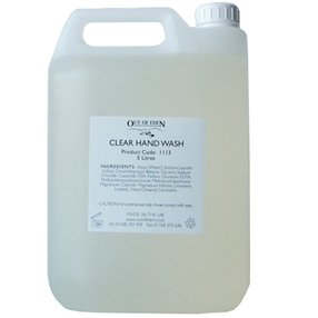 Clear Hand Wash, Soft Thyme and Grapefruit 5 litres