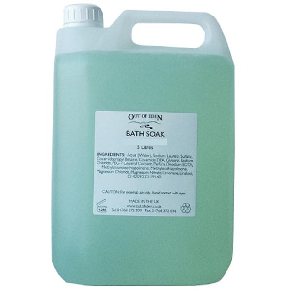 Eden Perfume Refill: Bath Soak, Lavender And Pine 5 Litres