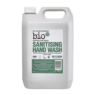 Bio D Bio D Sanitising Hand Wash Rosemary & Thyme 500ml