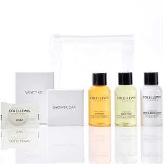 Cole & Lewis Lemongrass & Bergamot Toiletries Welcome Pack