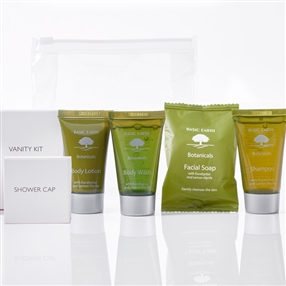 Basic Earth Toiletries Welcome Pack