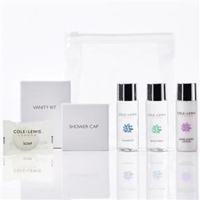 Cole & Lewis Silver Toiletries & Amenities Welcome Pack