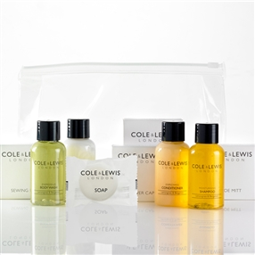 Cole & Lewis Deluxe Toiletries & Amenities Welcome Pack