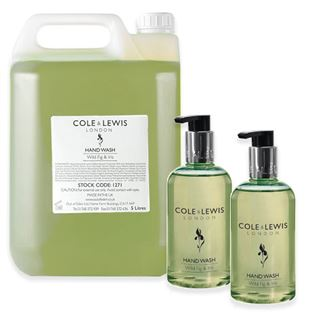 Cole & Lewis  Cole & Lewis Wild Fig and Iris Hand Wash, 5 Litres