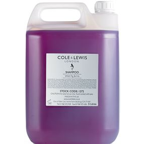 Cole and Lewis Wild Fig and Iris Shampoo, 5 Litres