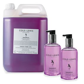 Cole & Lewis  Cole and Lewis Wild Fig and Iris Shampoo, 5 Litres