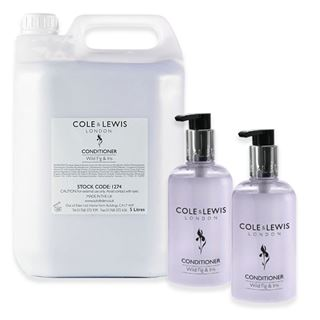 Cole & Lewis  Cole and Lewis Wild Fig and Iris Conditioner, 5 Litres