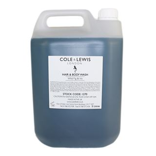Cole & Lewis  300ml Cole and Lewis Wild Fig and Iris Hair and Body Wash