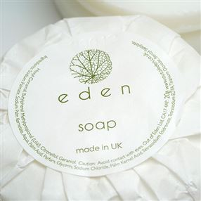 Eden Pleat Wrap Soap