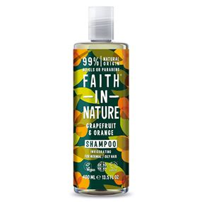 Faith In Nature Shampoo, Grapefruit and Orange