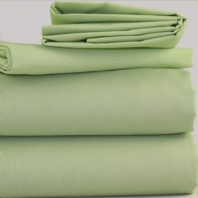 Meadow Green Polycotton Bed Linen
