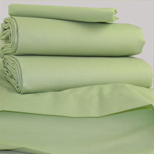 Polycotton Bed Linen Part - 41: Meadow Green Polycotton Bed Linen