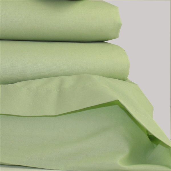 Polycotton Bed Linen Part - 40: Meadow Green Polycotton Bed Linen