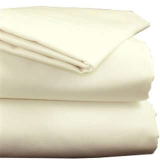 Ivory Polycotton Bed Linen