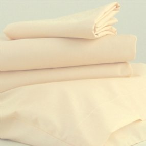 Polycotton Duvet Cover Rich Cream Single
