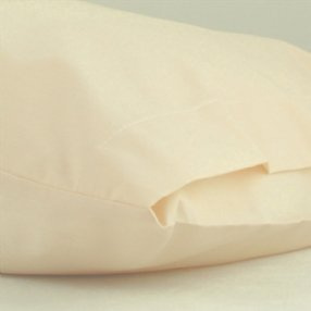 Polycotton Pair of Pillowcases Rich Cream