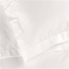 Ivory Percale Duvet Cover