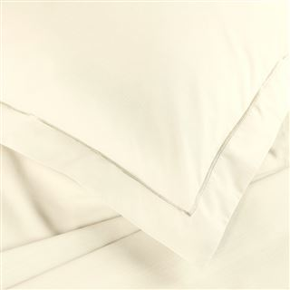 Cream Percale Hotel Bed Linen