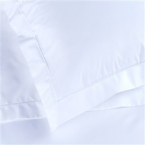 White Percale One Oxford Pillow Case