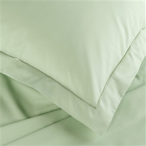 Green Percale One Oxford Pillowcase