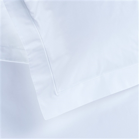 Oxford Pillowcase One 200tc Cotton White