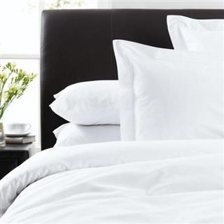 Luxury Egyptian Cotton 300 Thread Count Bed Linen White