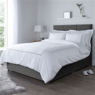 Luxury Egyptian Cotton 300 Thread Count Corded Duvet Cover