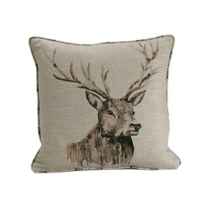 Stag Filled Cushion