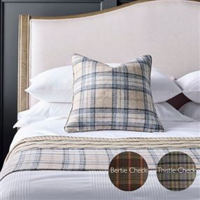Catriona Filled Cushion Bamburgh Check