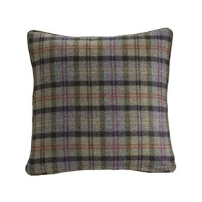 Catriona Filled Cushion Thistle Check
