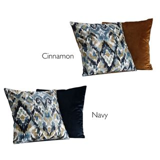 Out of Eden Kensington Filled Cushion Pacific 43 x 43cm