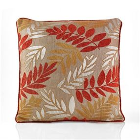 Fern Cushion Copper