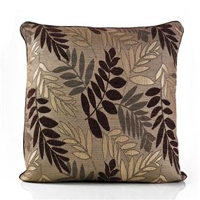 Fern Cushion Mocha