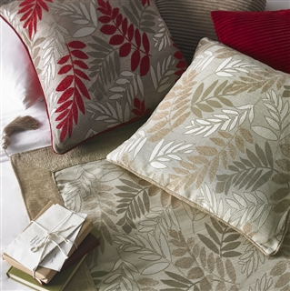 Fern Cushions in Five Colours