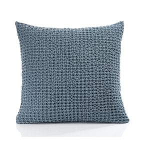 Hampton Filled Cushion Smoky Blue