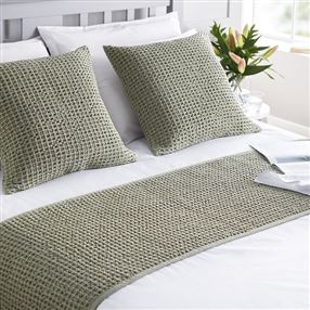 Apertex Hampton Filled Cushion Sage Green