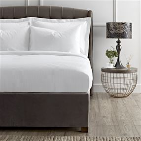Luxury Cotton Micro Stripe 300 Thread Count Bed Linen