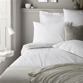 350 Thread Count Cotton Rich White Bedlinen