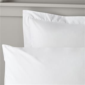 Out of Eden 350 Thread Count Cotton Rich White Bedlinen