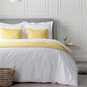 Classic Cotton Percale 200 Thread Count Bed Linen