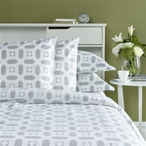 Portishead Duvet Cover and Pillowcase Grey