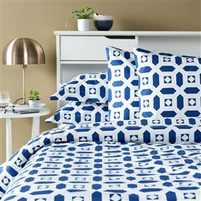 Portishead Duvet Cover and Pillowcase Navy