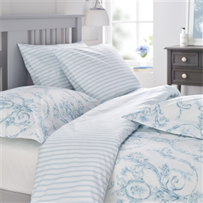 Elizabeth Duck Egg Blue Duvet Cover & Pillowcase