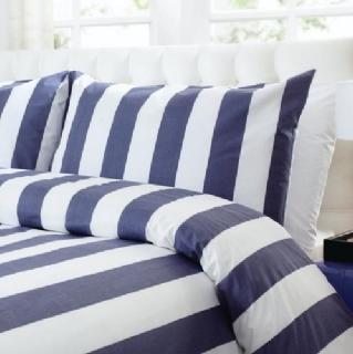 Martyna Denim Blue Duvet Cover Sets and Pillowcases