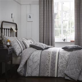 Hanworth Duvet Cover Set & Accessories Charcoal