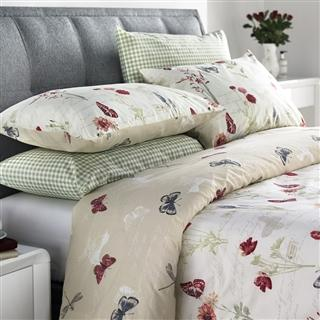 Country Journal Duvet Cover Set and Oxford Pillowcases