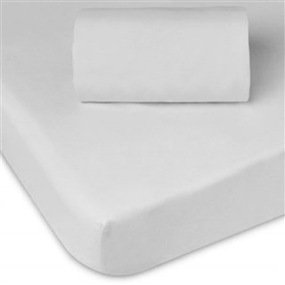 Jersey Fitted Cot Sheets, Pair