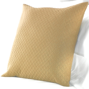Diamond Quilted Cushions in Sand